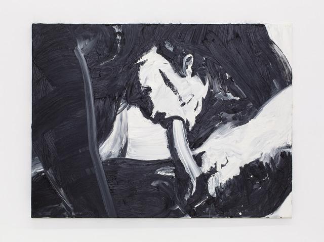 , 'Blow Job (black),' 2014, Nina Johnson
