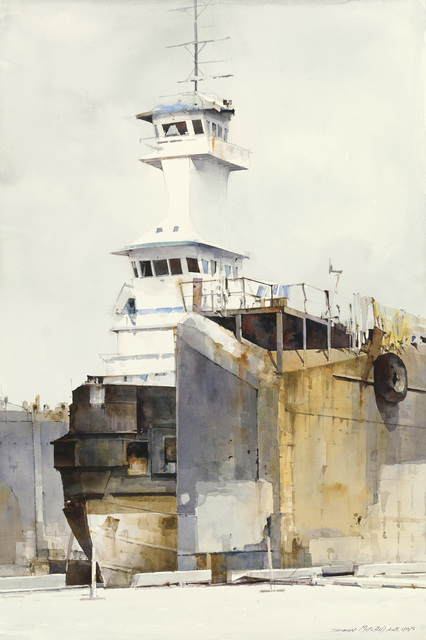 , ' Tampa Bay Port,' 2015, Cutter & Cutter Fine Art