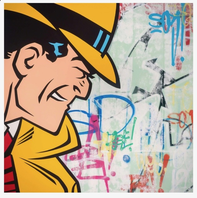 SEEN, 'Dick Tracy', 2016, Chase Contemporary