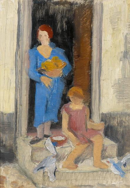 , 'In der Tür (In the Doorway),' 1927, Galerie Herold