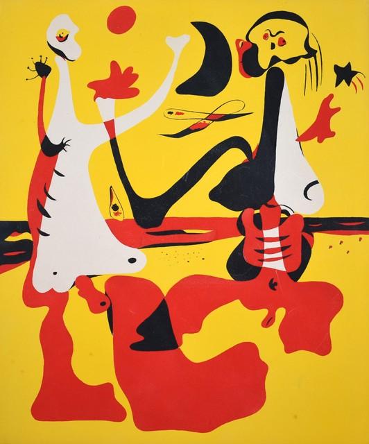 Joan Miró, 'Pochoir', 1934, Georgetown Frame Shoppe
