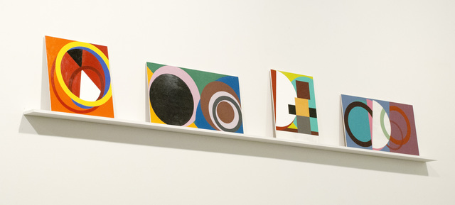 David Diao, 'After Made in USA', 2012, Painting, Acrylic on mdf panel, Postmasters Gallery