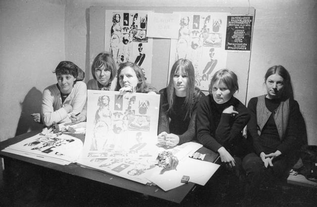 , 'Artists: Lene and Marie Bille, Rikke Diemer, Kirsten Dufour, Kirsten Justesen, Jytte Keller, Jytte Rex and Birgitte Skjoldjensen.,' 1970, Statens Museum for Kunst