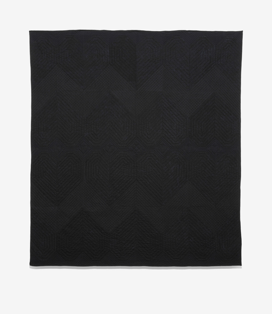 , 'Black Hearts Quilt,' 2017, Wasserman Projects