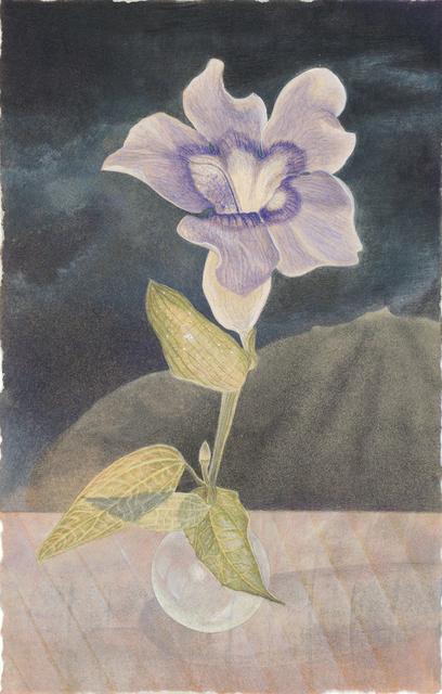 , 'Blue Thunbergia,' 2009, Gallery Victor Armendariz