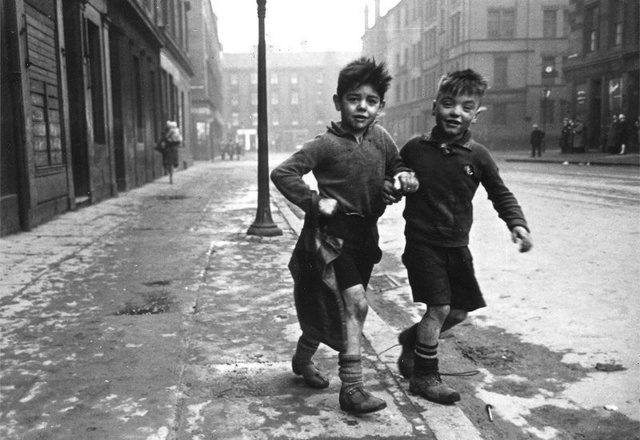 Bert Hardy, 'The Gorbals Boys, Glasgow', 1948 (printed later), Peter Fetterman Gallery