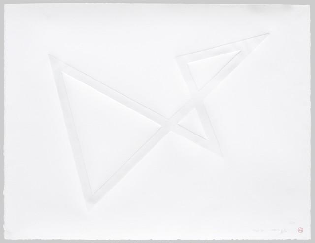 , 'Trait 31 - Gaufrages,' 2015, Galerie Marie-Robin