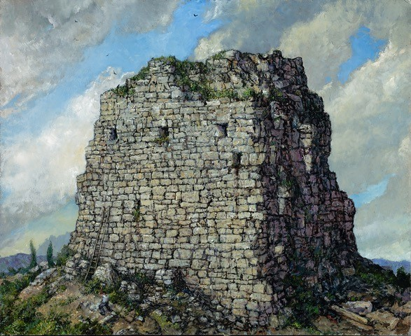, 'Empire's End (Study for The Stonebreaker),' 2016, Catharine Clark Gallery