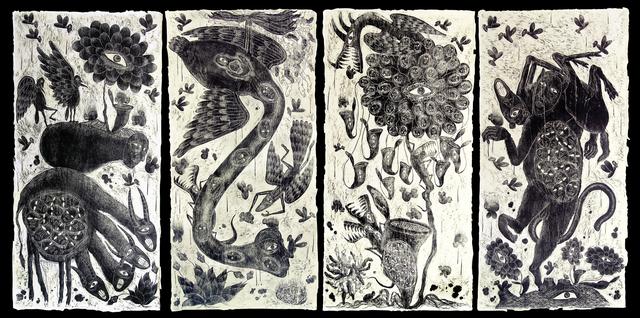 , 'Spiritual Disease 1 - 4,' 2009, Cavin Morris Gallery