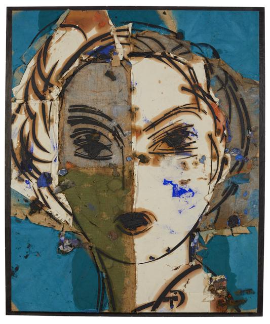 Manolo Valdés, 'Dorothy (retrato sobre fondo azul)', 2004, Galeria Freites