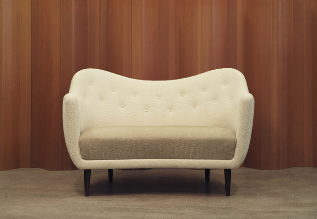 "Finn Juhl, '""BO64"" Two-and-a-half Person Sofa,' Designed 1948; made ca. 1950, Vance Trimble"