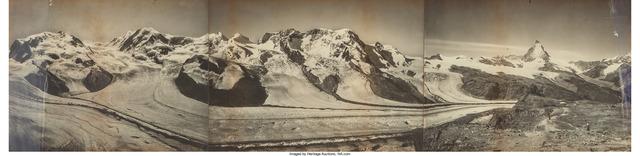 Vittorio Sella, 'Matterhorn Mountain Range', 19th century, Heritage Auctions
