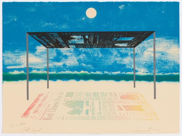 James Rosenquist, 'Cold Light', 1971, Graphicstudio USF