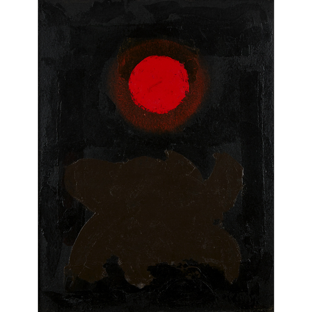 Adolph Gottlieb, 'Brown On Black', 1970, Freeman's