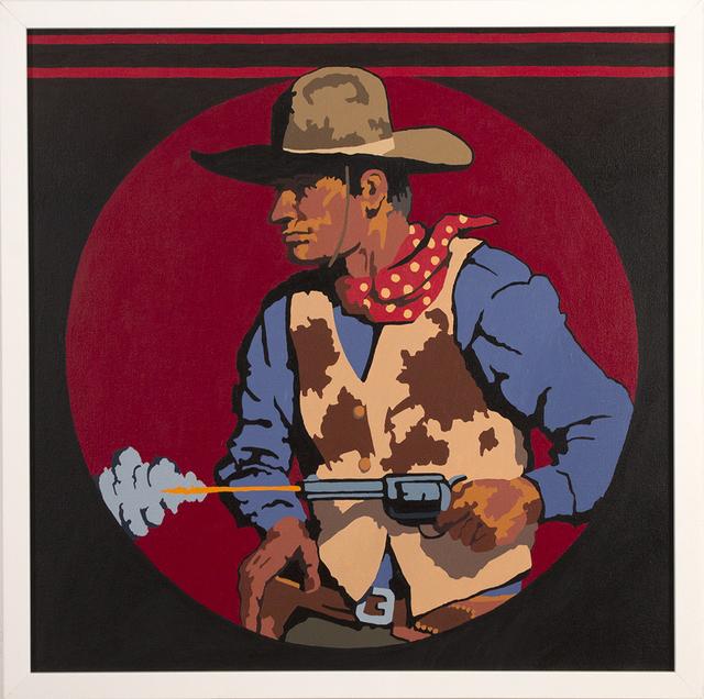 , 'Gunslinger,' 2018, Blue Rain Gallery