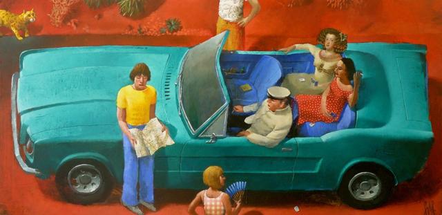 , 'Lost In The Desert,' 2016, Rebecca Hossack Art Gallery