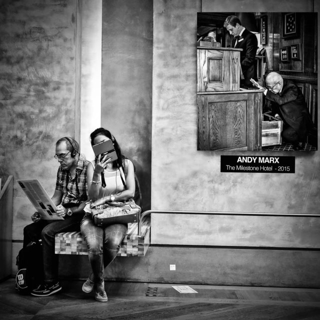 , 'Museum Couple,' , Paul Fisher Gallery