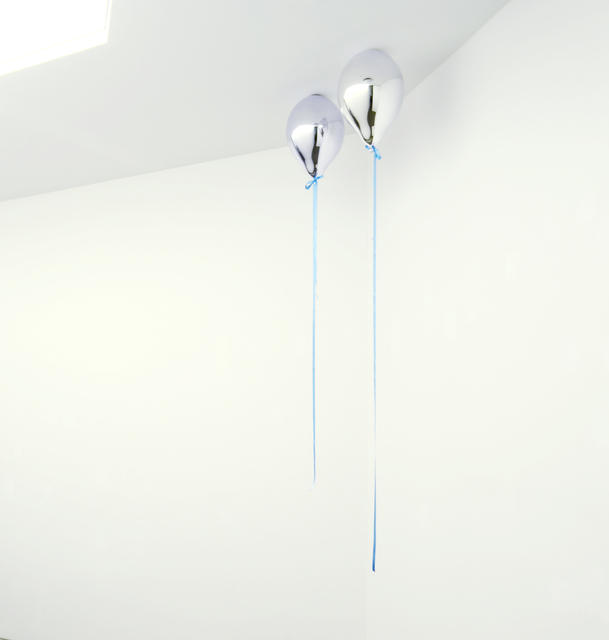 , 'Mirror Balloons II(Light Blue),' 2012, The Page Gallery