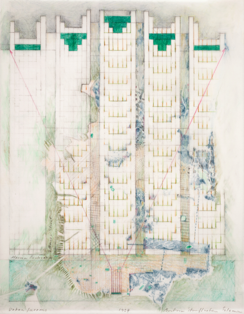 Barbara Stauffacher Solomon, 'Urban Furrows', 1987, San Francisco Museum of Modern Art (SFMOMA)