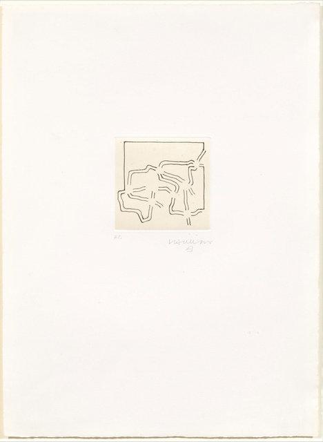 Eduardo Chillida, 'Aldebateko', 1973, Print, Etching, Koller Auctions