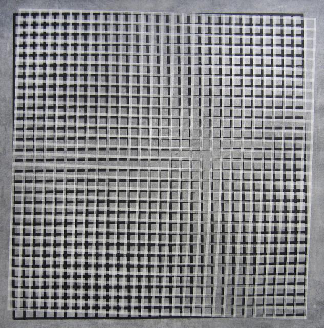 , 'Grid on Grid I,' 2015, Moskowitz Bayse