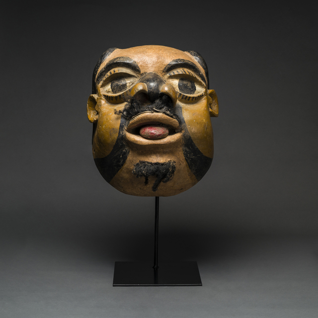 Unknown African, 'Ibibio Wooden Polychrome Mask', 20th Century AD, Barakat Gallery