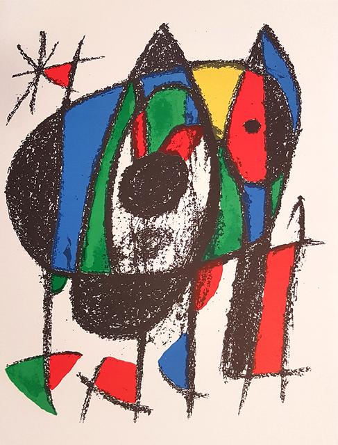 Joan Miró, 'Mirò Lithographe II - Plate V', 1975, Wallector