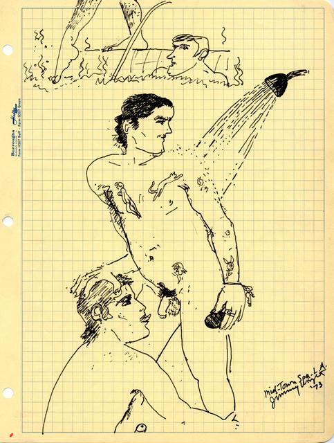 , 'Mid-Town Spa L.A.,' 1973, Corbett vs. Dempsey