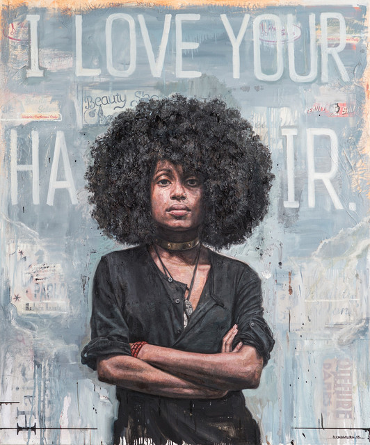 , 'I Love Your Hair,' 2013, LatchKey Gallery
