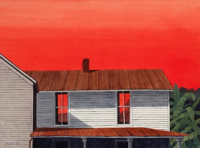 , 'Fiery Sunset III,' 2013, Mac-Gryder Gallery