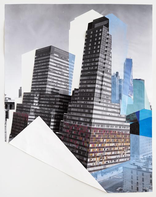 , 'Fold,' 2016, Sous Les Etoiles Gallery