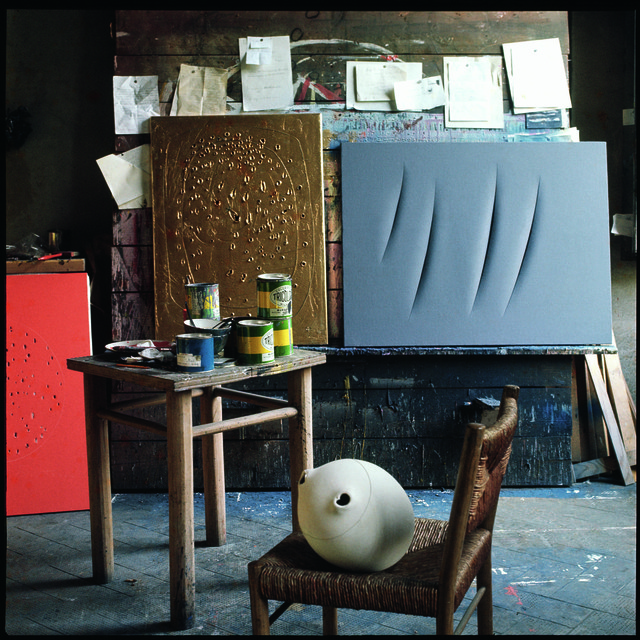 , 'Lucio Fontana, Studio, Milano,' 1962, Lia Rumma