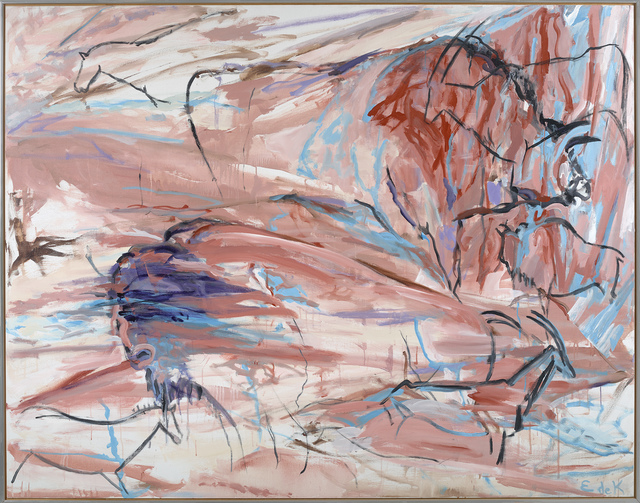 , 'Desert Wall, Cave #96,' 1986, Berry Campbell Gallery