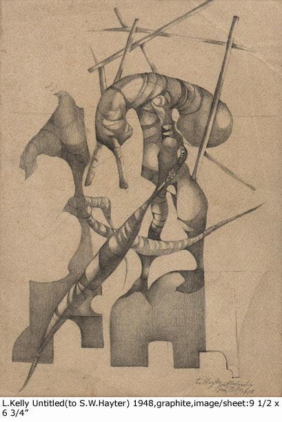 , 'Untitled (to S.W. Hayter),' 1948, Dolan/Maxwell