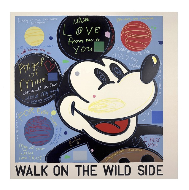 , 'With Love (Mickey),' 2016, Art Partout