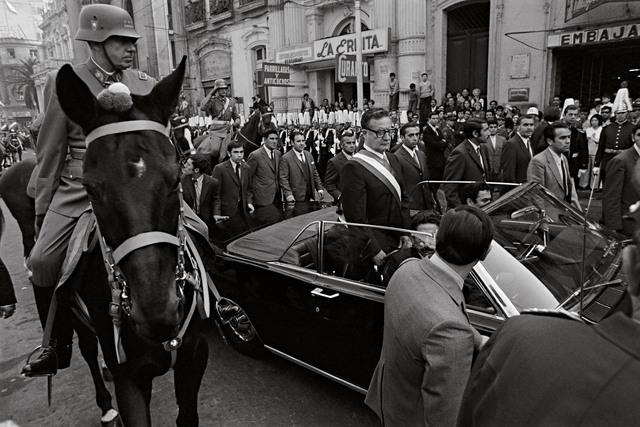 , 'Augusto Pinochet und Salvador Allende,' 1970, CAMERA WORK