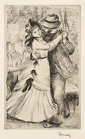 , 'La Danse a la Campagne,' 1890, Galerie d'Orsay
