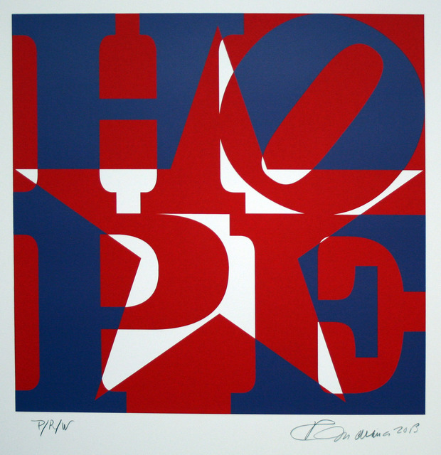 , 'Star of HOPE, P/R/W (Purple/Red/White),' 2013, Rosenbaum Contemporary