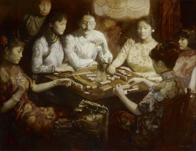 , 'Old dreams of Shanghai No. 1, The Golden Age,' 1993, Marlborough London