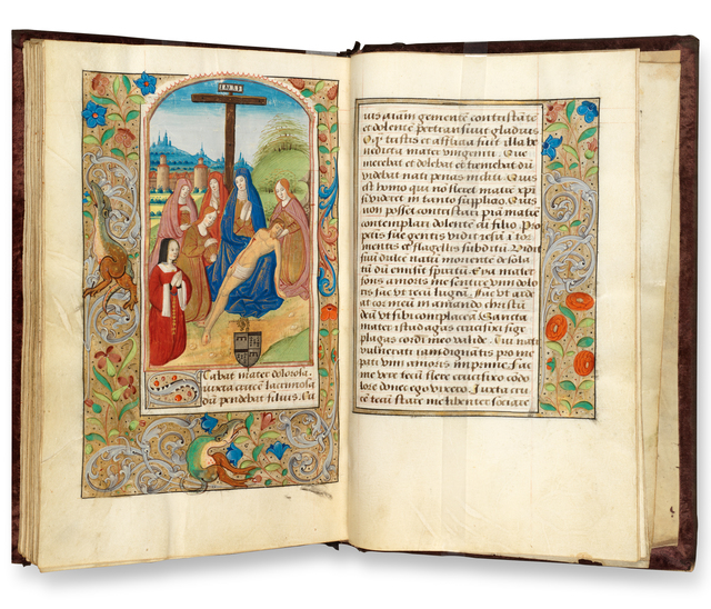 Attributed to Master of the Missal of Amboise Le Veneur, 'Book of Hours (use of Rouen)', ca. 1510, RISD Museum