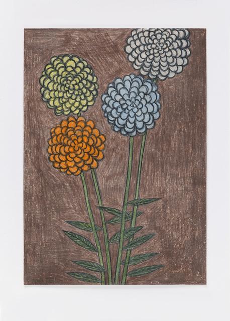, 'Untitled (night flowers) 12.4.16,' 2016, Ingleby Gallery