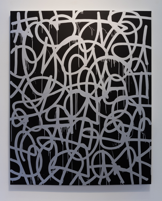 , 'Black and Silver,' 2016, Erin Cluley Gallery