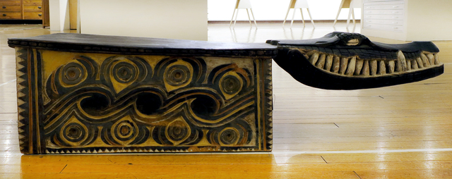 Papua New Guinea Tribal Art, 'Croc Head Bench', 1960-1995, Etherton Gallery