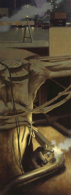 , 'Underground, West 57th Street,' 1989, Gerald Peters Gallery