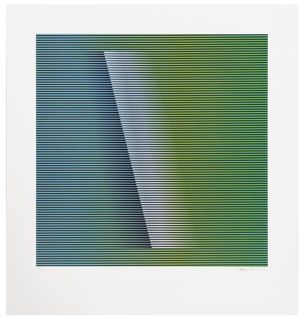 Carlos Cruz-Diez, 'Color Aditivo Medellin 1', 2012, La Patinoire Royale / Galerie Valerie Bach