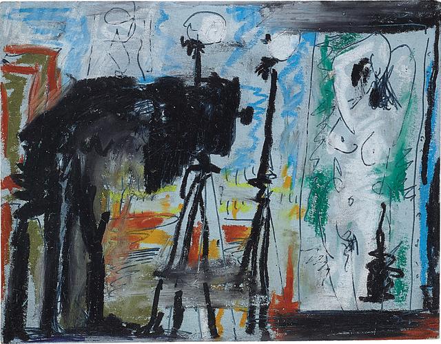 Pablo Picasso, 'Le Photographe', 1964, Gouache and pencil on paper, Phillips