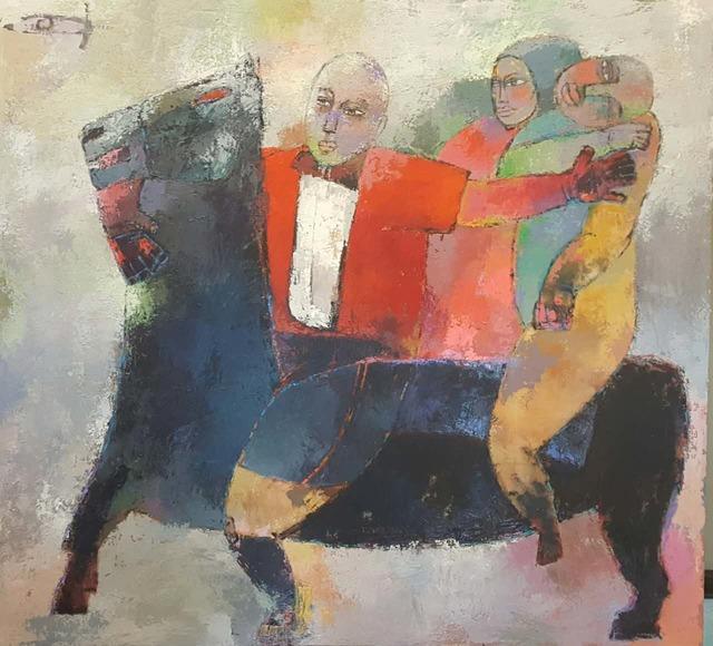 , 'Riders,' 2016, ARTSPACE 8