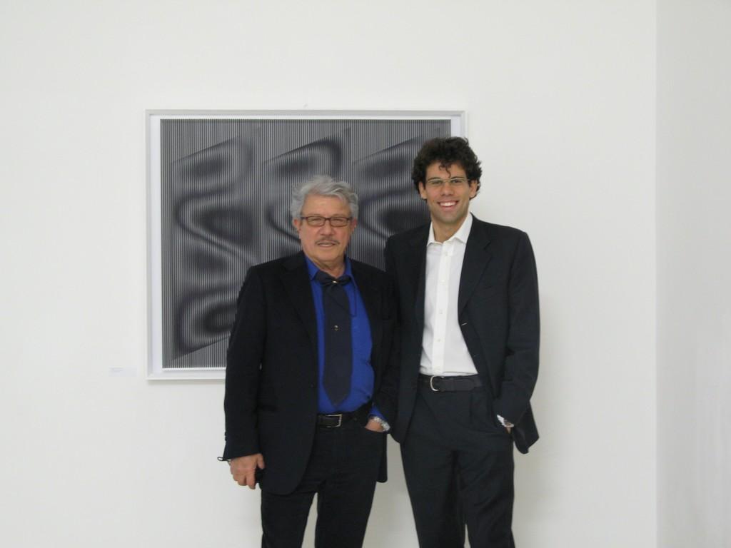 Alberto Biasi and Antonio Addamiano. ALBERTO BIASI. Optical-dynamic Reliefs March 13, 2008 - April 30, 2008