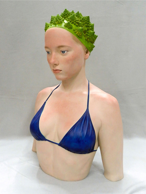 , 'Dama del Brocoli,' , Aurora Vigil-Escalera Art Gallery