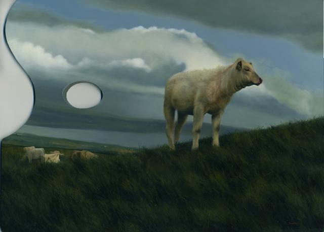 , 'Irish Cow,' 2017, Abend Gallery